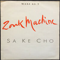 "Zouk Machine 12"" Sa Ké Cho - Promo - France"