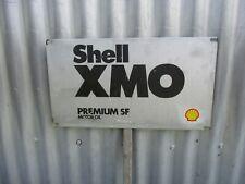 SHELL  XMO  PREMIUM  SF   OIL  BOTTLE  RACK  SIGN