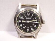 Vintage Benrus 17J Manual Wind Men's Wrist Watch Military Civilian Model Running