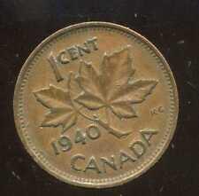 CANADA 1 cent  1940