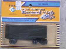 Roco Minitanks (NEW) 1/87 WWII US M-119 6T Closed Van Trailer Lot #2564K