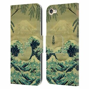 OFFICIAL KIJIERMONO ANCIENT ASIAN ART LEATHER BOOK CASE FOR APPLE iPOD TOUCH MP3
