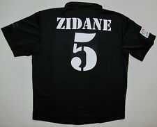 Real Madrid Zidane 2002/03 LFP shirt Adidas centenary jersey maillot camiseta L