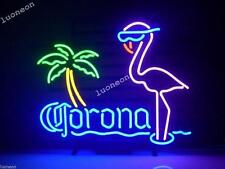 Rare New Corona Extra Pink Flamingo Real Beer Bar Pub Neon Light Sign FREE SHIP