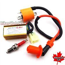 Racing Ignition Coil CDI Spark Plug For 150cc 200cc 250cc Dirt Bike ATV Quad