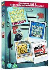High School Musical Trilogy 1+2+3 Complete DVD Highschool Boxset New R4