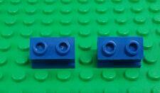 Lego Vintage Blue Hinge Interlocking Brick Rare 2x10 Complete Plates x 1 piece