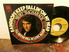 "burt bacharach""raindrops keep fallin on my head""single7""fr..am:49724."