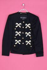 ESCADA Vintage-Blazer mit Pailletten D 38 = D 36 navy blue