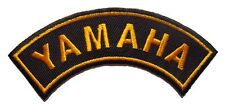 New Yamaha Motorcycle Racing embroidered iron on patch. 4.5 x 1.25 inch (i46)