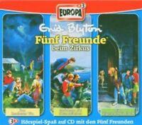 FÜNF FREUNDE -BOX 5-BEIM ZIRKUS (ZAUBERER/STRANDRÄUBER/ZIGEUNERMÄDCHEN)3 CD NEU