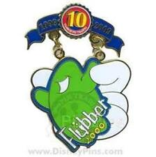WHITE GLOVE FLUBBER 2000 10 ANNIV TRIBUTE Collection 2009 WDW LE 1000 PIN DISNEY