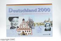 Kurs Münzen satz 2000 J 1 Pfennig - 5 DM zahlreiche Briefmarken gestempelt Münze