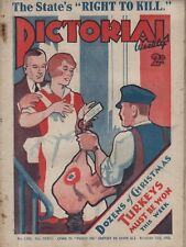 PICTORIAL WEEKLY (23 November 1929) GEORGE ROBEY - MANCHESTER - DEATH PENALTY