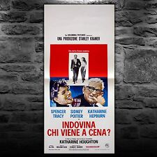 Vintage Poster Indovina Chi Viene A Cena Guess Who's Coming To Dinner 33x70 CM