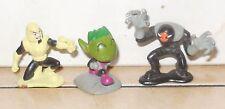 Bandai DC Comics Teen Titans Mini PVC figure Lot Slade Robot Beast Boy Warp