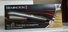 NEW MODEL REMINGTON S8590 KERATIN THERAPY HAIR STRAIGHTENER PRO CERAMIC bnwb0993