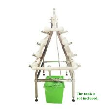 88 Sites Hydroponic Site Grow Kit Stainless Steel Holder 2-side Ladder