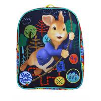Peter Rabbit Badge Collector Scout Blue Childrens Backpack School Bag Rucksack