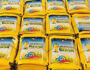 Panini World Cup Brazil 2014 WC 14 Mexico Yellow Edition 1200 Packets