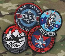 USN TOP GUN FIGHTER SCHOOL F-14 TOMCAT RED TEAM AGGRESSOR SQN vel©®⚙ SSI #1 + #2