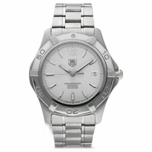 Tag Heuer Aquaracer 300m Gents 39 mm Automatic, Ref, WAF2111, Box & Papers