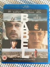 BABEL  BLU-RAY UK Release,  BRAD PITT, CATE BLANCHETT - Free UK Post