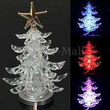 USB Powered Colourful LED Tree Lights Lamp Holiday Xmas Wedding Decor Decoration