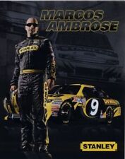 2012 Marcos Ambrose Stanley Tools Bed Creeper Ford Fusion NASCAR postcard