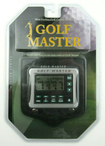 Golf Master by Excalibur Electronics Digital Golf Pro Model 468-CS SEALED