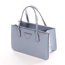 Original PRADA Galleria mini Tote Bag Tasche Shopper Leder Double Zip NEU