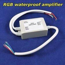 Waterproof Ip65 Led Rgb Amplifier Dc12V-24V Controller for 5050 Rgb Strip light