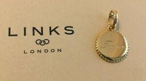 Links of London - 18ct Gold Vermeil Taurus Zodiac Charm RRP £50