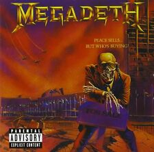 MEGADETH CD - PEACE SELLS...BUT WHO'S BUYING? [REMASTERED](2004) - NEW UNOPENED