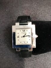 Chaumet Automatic Watch Stainless and Leather Band