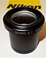 Nikon Diaphot 200300 Inverted Microscope Slwd Condenser
