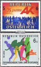 Oostenrijk 2147,2148 (compleet.Uitgaven) postfris 1995 Speciale postzegels