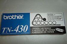 Brother TN-430 Black Toner Cartridges HL-1230 HL-1240 HL-1250 HL-1270N TN430 NEW