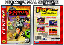 Comix Zone - Sega Genesis Custom Case *NO GAME*