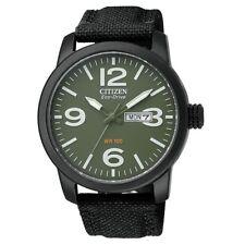 Citizen BM8475-00X Eco-Drive Military Green Dial Analog Men's Watch