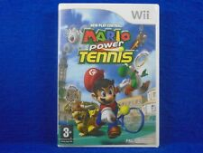 *wii MARIO POWER TENNIS (NI) New Play Controls Game Nintendo PAL UK Version