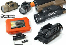 Airsoft tactical 800 lumes pistol mounted flashlight TL style