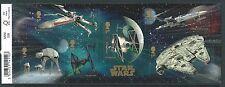 Echte Briefmarken aus Großbritannien mit Star Wars-Motiv