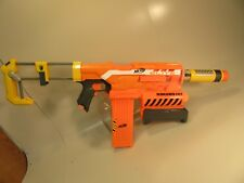 Nerf Elite Demolisher 2-IN-1 Motorized Has Clip and Shoulder Stock and Silencer