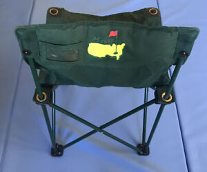 Official Masters Tournament Folding Chair And Carry Bag
