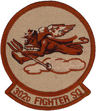 USAF 302nd FIGHTER SQUADRON PATCH - DESERT