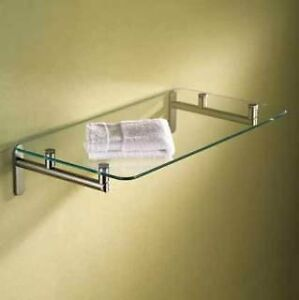 "Motiv 0240-20-SN 20"" Shelf, Polished Chrome"