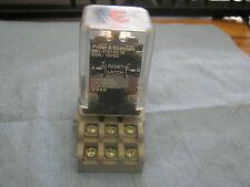 Potter & Brumfield Model: KUL-11D15S-12 Relay w/ Base.  Coil:  12VDC<
