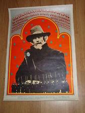 Original 1967 Janis Joplin/Big Brother Bo Diddly Leo Tolstoy Poster #77-1 Avalon