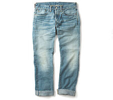 Double RL, RRL slim fit, dylan blue, selvedge, men's jean, s. 30, 31, 32